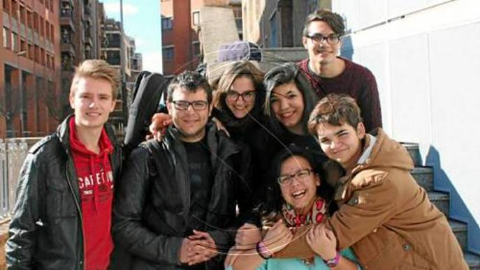 Alumnes de l'Episcopal participen en un concurs de pop rock