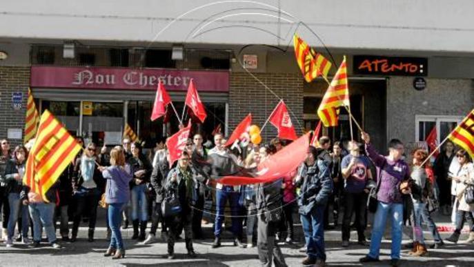 Augmenten un 30% les hores perdudes per vaga a Lleida