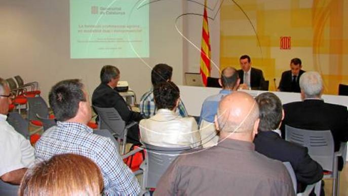 Lleida tindrà FP agrària dual en empreses i de disseny multimèdia