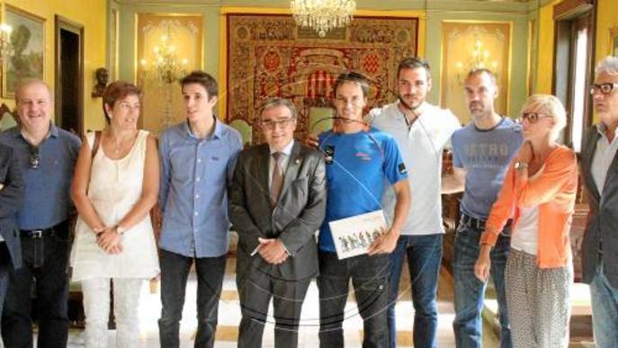 La Paeria renova el patrocini de Craviotto, Àlex Màrquez i Colomina
