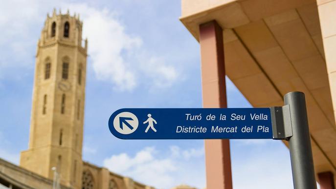 Imatge arxiu Turó de la Seu Vella de Lleida