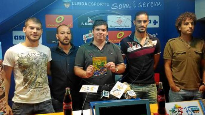 El Lleida transmet els valors de l'esport a les escoles