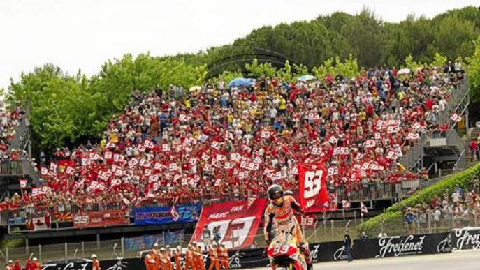 Màrquez estarà acompanyat per 700 fans a Motorland