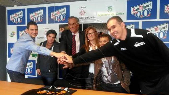 El Força Lleida crea una secció per a discapacitats
