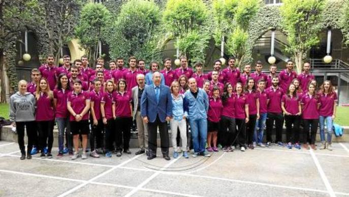 La UdL premia els seus 'ambaixadors' esportius