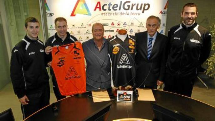 Actel patrocina el Força Lleida