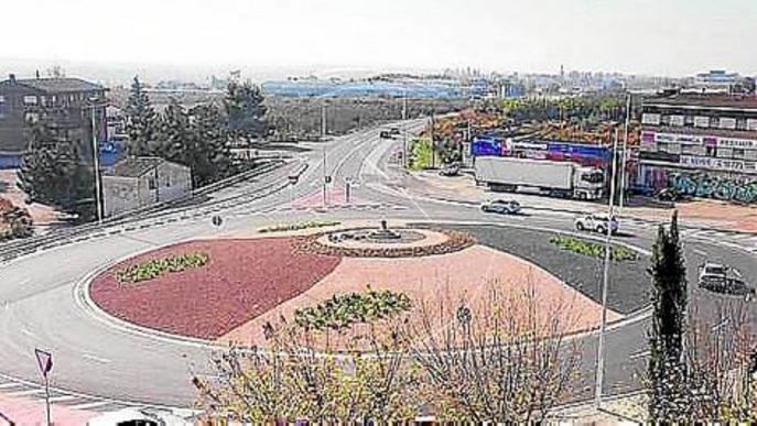 La Paeria inaugura les rotondes de la Caparrella i Butsènit