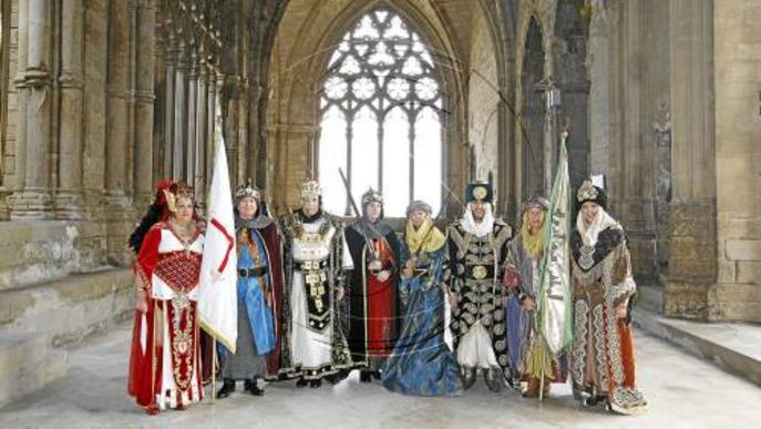 Relleu de les capitanies de Moros i Cristians a la Seu Vella