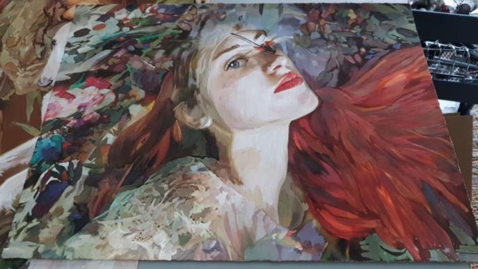 """Inauguració de l'exposició """"Quimera"""" de Lily Brik"""
