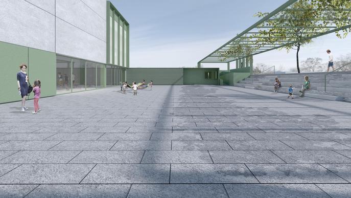 Rosselló inicia les obres del nou pavelló poliesportiu