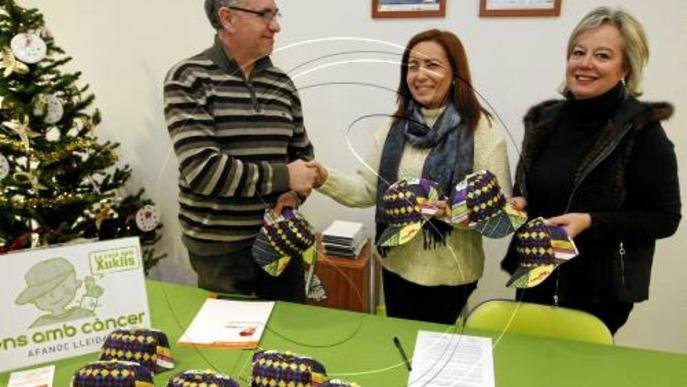 Tres mil comerços de Lleida vendran la gorra d'Afanoc