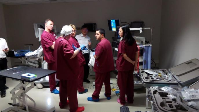 Presitigosos professionals de l'endoscòpia escullen el CREBA de l'IRBLleida per impartir un curs de resecció endoscòpica