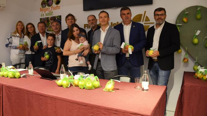 ASAJA presenta la campanya 'Menjar fruita és salut. Menja fruita de Lleida!'