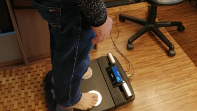 El Bus de la Salut inclou una nova prova per estimar el percentatge de greix del cos