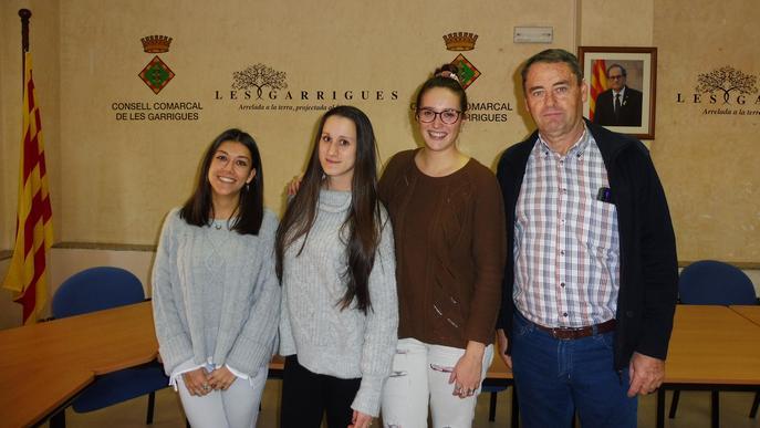 El Consell Comarcal incorpora tres persones en pràctiques gràcies al programa de Garantia Juvenil