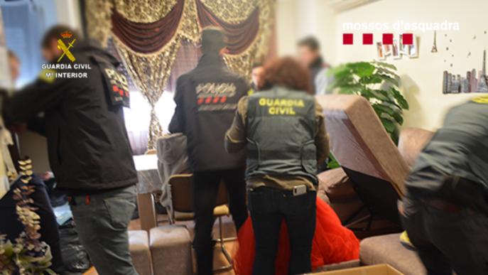 ⏯️ Desarticulen a Lleida una organització internacional dedicada al tràfic de persones