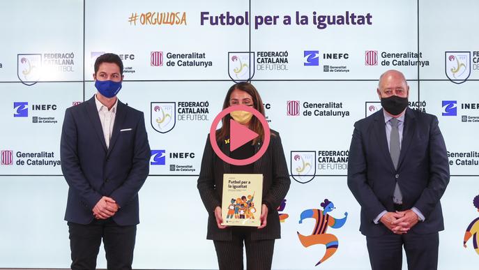 ⏯️ '#Orgullosa, futbol per a la igualtat', trencar estereotips i visibilitzar el futbol femení