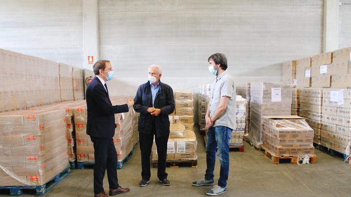 La Subdelegació del Govern lliura 313.400 quilos d'aliments per a les persones més desfavorides de Lleida