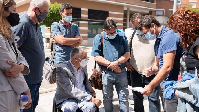 Signada l'acta de replanteig i inici d'obres de la biblioteca municipal de Torrefarrera