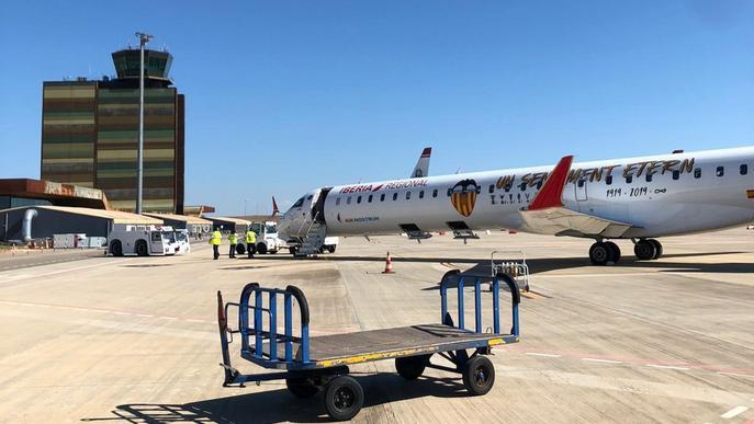 Lleida recupera el vol a Palma des d'Alguaire