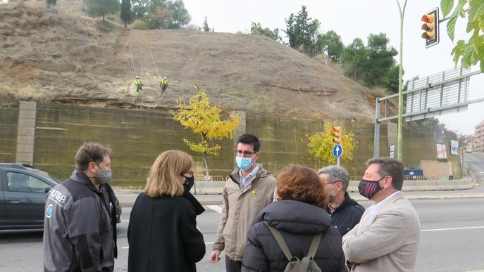 En marxa els treballs per arranjar i millorar el Turó de Gardeny de Lleida