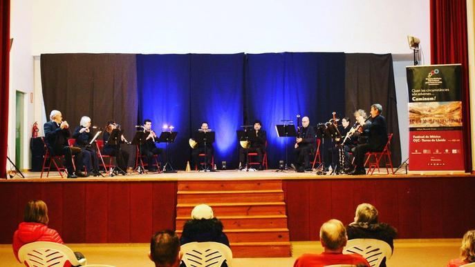 Els Vents de l'Orquestra Julià Carbonell,  protagonistes del Festival de Música OJC Terres de Lleida