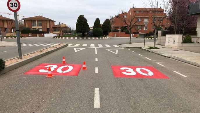 Torrefarrera es converteix en un municipi 30 km/h