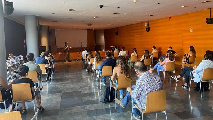 Conferència 'Inexperiències' a càrrec dels guardonats en els Premis AJAC XII a la Demarcació de Lleida del COAC