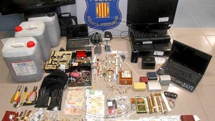 Ponent va registrar l'any passat 26 denúncies per robatori cada dia