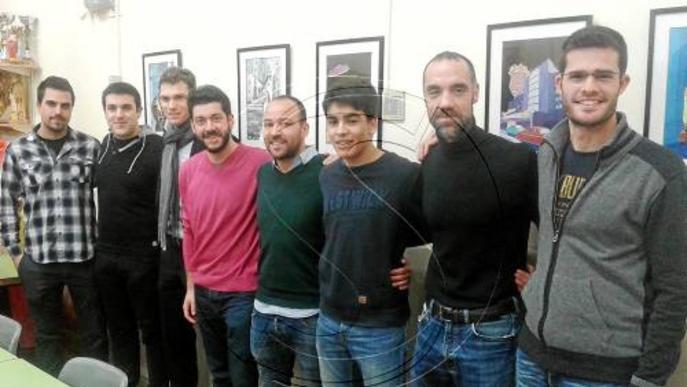 Un grup de socis del Lleida Esportiu crea la primera associació per donar suport al club més enllà dels partits