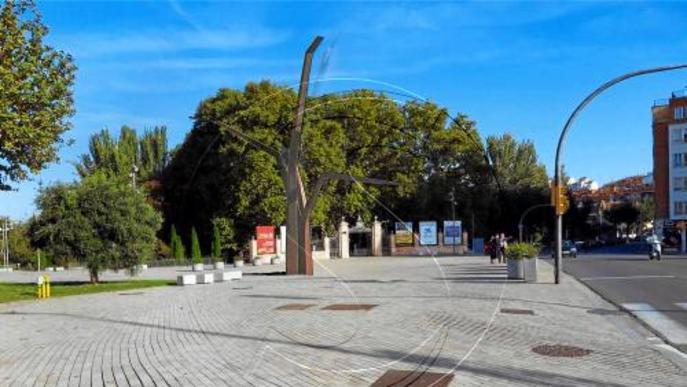 Restauraran 'L'arbre paer' abans de 'replantar-lo' a la plaça Bores