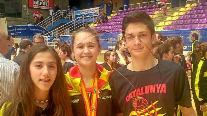Una lleidatana, campiona d'Espanya de voleibol amb Catalunya