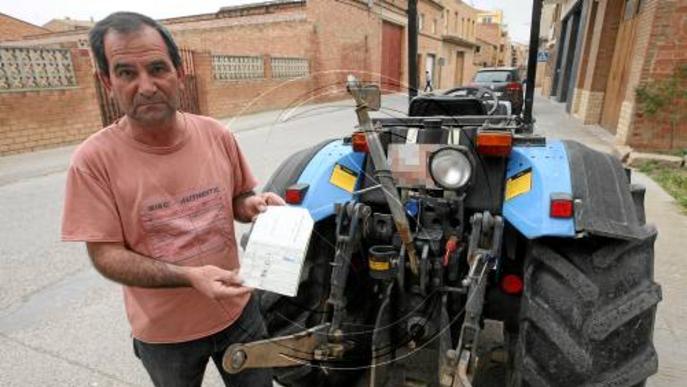 UP diu que Fraga no exigeix frens per a remolc en tractors a la ITV