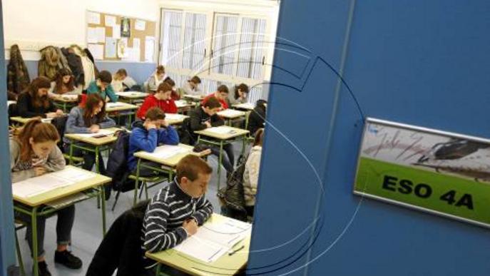 Matemàtiques amb menys alumnes a 3r d'ESO i reforç de la geometria
