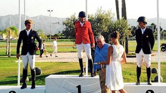 El lleidatà Sergi Segura, campió estatal juvenil de salts d'hípica