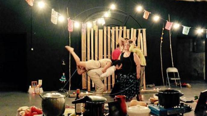 Assaig obert a Tàrrega per gaudir de teatre i gastronomia