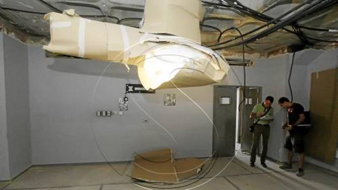 L'Arnau inicia les obres de renovació de més de la meitat dels seus quiròfans