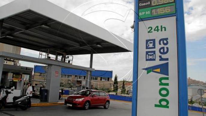 Més de 40 gasolineres lleidatanes venen el gasoil a menys d'1 euro