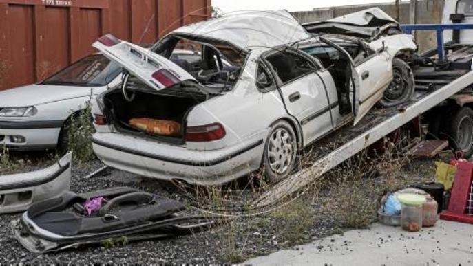 Dos ferits, un de crític, en un accident a l'autovia a Cervera