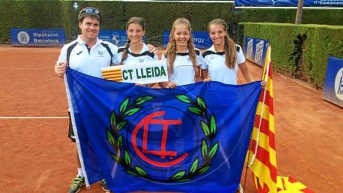 Les infantils del Tennis Lleida debuten a l'Estatal per equips