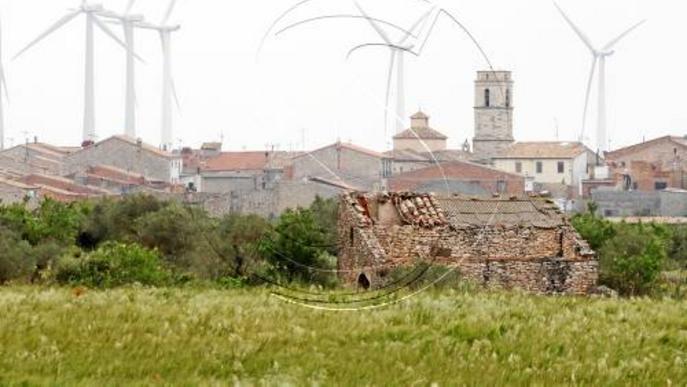 Canviaran els llums nocturns de 70 molins de Lleida per reduir l'impacte al paisatge