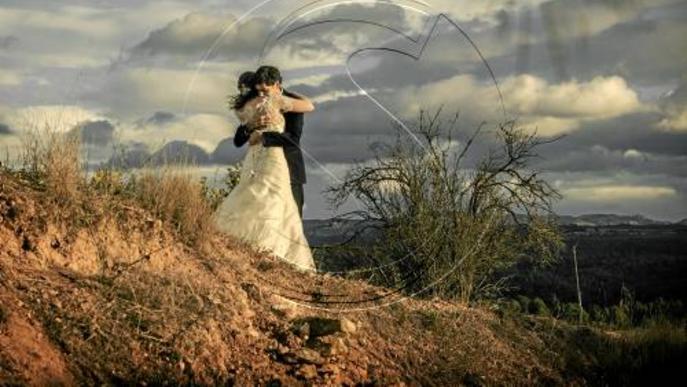 Una fotògrafa de Solsona, referent en retrats de casaments