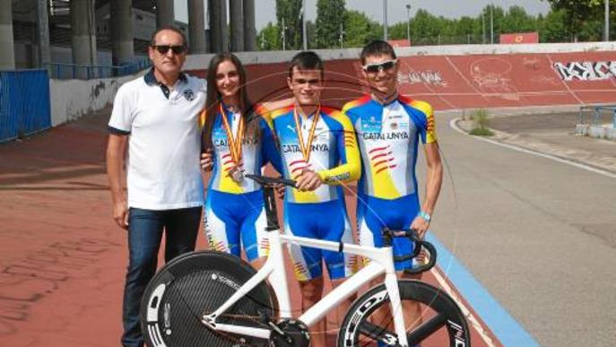 Tres medalles per a Lleida a l'Estatal