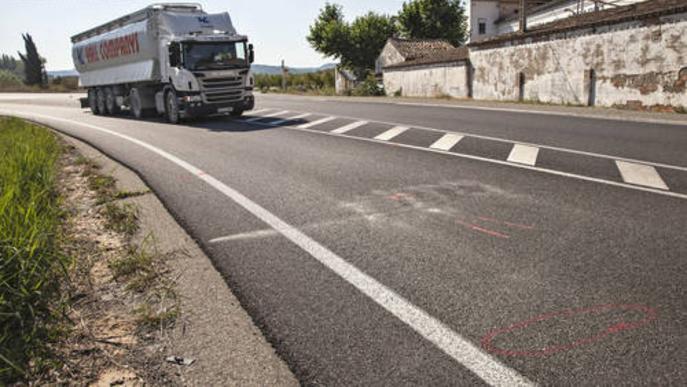 Un vianant ha mort atropellat a l?L-201 a Maldà