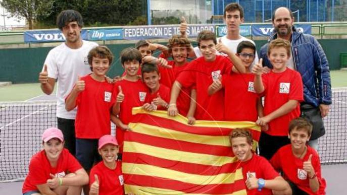 La selecció lleidatana de tenis supera la de Madrid a domicili
