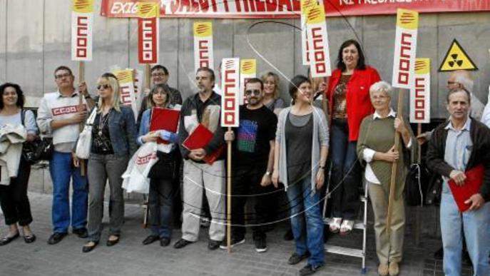 Els accidents a la feina augmenten un 5% a Lleida