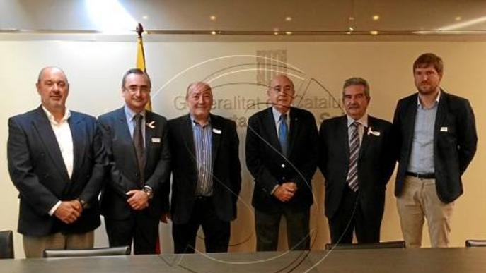 Salut garanteix als alcaldes l'atenció sanitària a l'Arnau dels pacients de la Franja