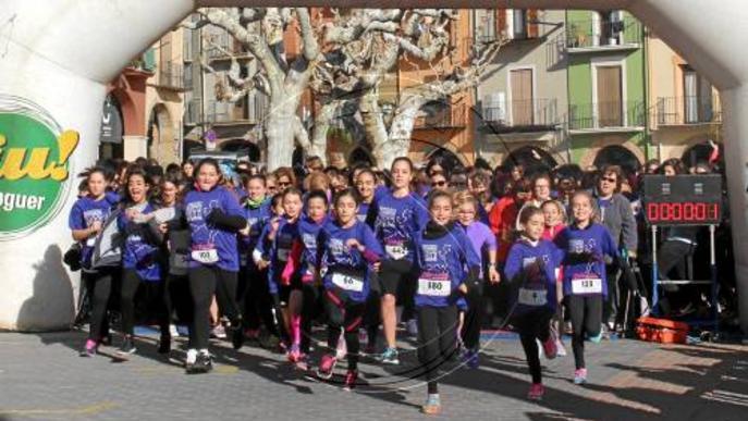 La Cursa de la Dona, amb 1.200 atletes a Balaguer