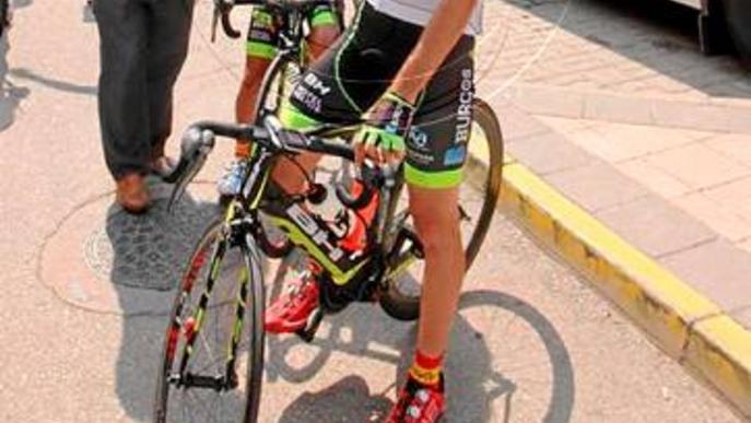 Arnau Sol segueix un nou any a professionals amb el Burgos