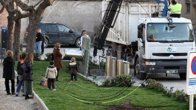 L'Urgell pesa la brossa dels pobles i millorarà el reciclatge